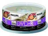 Philips 25-Pack Lightscribe DVD-R, 4.7GB, 16X (Philips Consumer Electronics: DM4L6B25F/17)