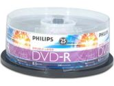 PHILIPS DM8S8B25F/17 25-Pack 8X DVD-R DL, Double Layer (Philips Consumer Electronics: DM8S8B25F/17)