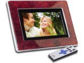 "Cenomax Powered by Lite-On IT 7"" Digital Photo Frame - 4 Frame Inserts, Remote Control (Cenomax: F702)"