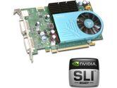 Leadtek GeForce 8600 GT Video Card - 512MB GDDR2, PCI Express, SLI Ready,  DVI, HDTV, Video Card (HIS - Hightech Information System Limited: H165GTQT256GDDN-R)
