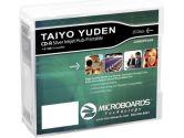 Microboards Taiyo Taiyo Yuden 52X CD-R Silv Inkjet , 300 Case (Microboards: CDR80SPP25EB)