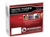 Microboards Taiyo Yuden 52X CD-R White Inkjet HUB Printable, 300 Case (Microboards: CDR80WPP25EB)