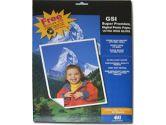 GSI Premium High Gloss Photo Paper 8.5x11 (GSI Corporation: SPHG-LTR-25)