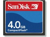 SanDisk 4.0GB Compact Flash Card (TRANSCEND INFORMATION: TS16GCF133)