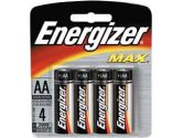 Energizer 4 Pack AA Size Alkaline Batteries (: E91BP-4)