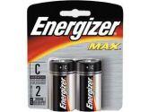 Energizer 2 Pack C Size Alkaline Batteries (ENERGIZER: E93BP-2)