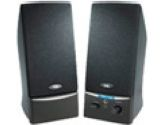 Cyber Acoustics CA-2012RB 2.0 Desktop Speaker System - Black (Cyber Acoustics: CA-2012RB)
