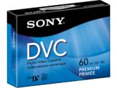 Sony's 60 Minute Digital Video Cassette (Sony: DVM60PRR)