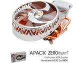 Zerotherm Hurricane HC92CU 4 Heatpipe VGA Cooler 92MM 8800GTS GTX Ultra (ZEROTHERM: HC928800)