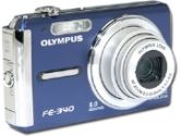 Olympus FE-340 Digital Camera - 8.0 Megapixels, 5x Optical, 4x Digital Zoom, 2.7 LCD, Blue (Olympus: 226225)