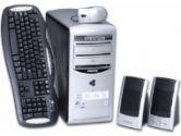 Gateway 420GR Intel Pentium 4 2.93GHz / 512MB DDR / 160GB SATA HDD / DVD±RW Dual-Layer / CD-ROM / Flash Media Reader / 10/100Mbps LAN / Windows XP Home / Refurbished Desktop PC (Gateway: 420GR)