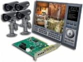 Lorex QLR0444 4 Port PCI DVR with 4 Indoor/Outdoor Cameras (Lorex Technology: QLR0444)