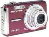 Olympus FE-340 8.0 Megapixel Super Slim Digital Camera - 8.0 Megapixel, 5x Optical Zoom, 2.7 LCD, Red (Olympus: 226230)