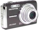 Olympus FE-340 Super Slim Digital Camera - 8.0 Megapixel, 5x Optical Zoom, 2.7 LCD, Black (Olympus: 226390)