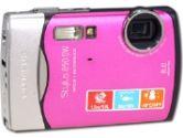 Olympus STYLUS 850 SW Digital Camera - 8.0 Megapixels, 3x Optical Zoom, 5x Digital Zoom, 2.5 LCD, Pink (Olympus: 226320)