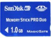 Sandisk 1GB Memory Stick Pro Duo (SANDISK: SDMSPD-1024-A11)