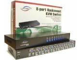 Linkskey LKV-0880 KVM Switch - 8-Ports, PS2, Rackmount (Linkskey: LKV-0880)