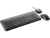 Trust DS-3200 Wireless Optical Slimline Deskset Keyboard and Mouse combo (TRUST: 14627)