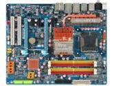 Gigabyte EX38-DS4 ATX LGA775 X38 DDR2 2PCI-E 2PCI SATA2 RAID Sound 2GLAN 1394 CrossFireX Motherboard (Gigabyte: GA-EX38-DS4)