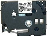 BROTHER LABELMAKER, SECURITY TAPE 18MM (TZSE4) (Brother: TZSE4)