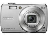 Fuji F100FD Digital Camera 12MP 5X Wide Zoom 3200 ISO 2.7IN LCD Dual Image Stabilization Silver (Fujifilm: 973892)