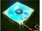 AeroCool Aluminum - Blue Blue LED Case Fan (AeroCool: AEROFAN-ALU-QUAD BLUE)