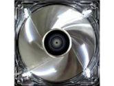AeroCool Silver Lightning 92MM White LED Cooling Fan 2500RPM 50CFM 29DBA (AeroCool: SILVERLIGHTNING-92)