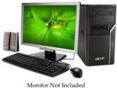 Acer AM1640-ED2160A Desktop PC Intel Dual Core E2160 2GB 250GB DVDRW Vista Home Premium (ACER: PT.SAK0X.034)