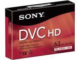 Sony DVM-63HD HDV Cassette (63 Minutes) (Sony: DVM63HDR)