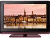 "Sony's KDL32M4000R 32"" BRAVIA M-Series High-Definition LCD TV - Red (SONY: KDL32M4000R)"