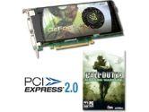 XFX GeForce 9600GT XXX Alpha Dog COD4 740MHZ 512MB 2GHZ DDR3 PCI-E 2XDVI-I HDCP HDTV Out Video Card (XFX: PVT96GYDSU)