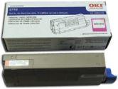 OKIDATA 43866102 Magenta Toner Cartridge (OKI: 43866102)