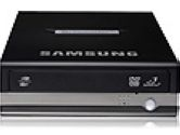 SAMSUNG USB 2.0 Black External 22X DVD Burner Model SE-S224Q (Samsung: SE-S224Q/AMBN)