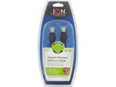 Ion Cable 6FT Black RJ45 Ethernet Network Cable (Ion Cables: IO-RJ45-6BK)