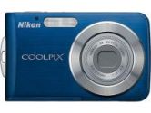 Nikon Coolpix S210 Digital Camera 8.1MP 3X Optical Zoom 2.5IN LCD ISO 2000 Cool Blue (NIKON ELECTRONICS: 26101)