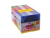 Verbatim CD/DVD Color Slim Storage Cases (Verbatim: 94178)