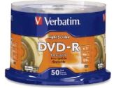 Verbatim 96166 50 Pack 16X DVD-R Lightscribe Spindle (Verbatim: 96166)