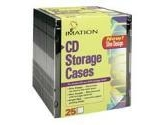 Imation Slimline Black Jewel Cases 25PK (Imation Corp.: 41017)