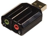 Syba SD-CM-UAUD USB Stereo Audio Adapter (Syba: SD-CM-UAUD)