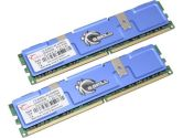 G.SKILL 4GB (2 x 2GB) 240-Pin DDR2 SDRAM DDR2 667 (PC2 5300) Dual Channel Kit Desktop Memory (G.SKILL: F2-5300CL4D-4GBPQ)
