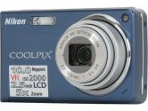 "Nikon CoolPix S550 Cool Blue 10.0 MP 2.5"" 230K LCD 5X Optical Zoom Digital Camera (Nikon Inc: 26109)"