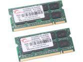 G.SKILL 4GB (2 x 2GB) 200-Pin DDR2 SO-DIMM DDR2 667 (PC2 5300) Dual Channel Kit Laptop Memory (G.SKILL: F2-5300CL5D-4GBSA)