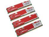 G.SKILL 4GB (4 x 1GB) 240-Pin DDR2 SDRAM DDR2 800 (PC2 6400) Quad Channel Kit Desktop Memory (G.SKILL: F2-6400CL5Q-4GBNQ)