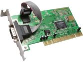 SYBA PCI Lower Profile Single Port Serial Card Model SD-LP-MCS1S (Syba: SD-LP-MCS1S)