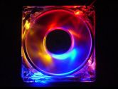 APEVIA CF4SL-4C Multi-Color LED Case Fan (APEVIA: CF4SL-4C)