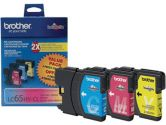 brother LC653PKS High Yield Ink Cartridge For MFC-6490CW Printer (Brother: LC653PKS)