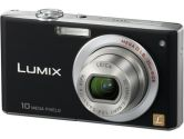 "Panasonic DMC-FX35K Black 10.1 MP 2.5"" 230K LCD 4X Optical Zoom 25mm Wide Angle Digital Camera (Panasonic: DMC-FX35K)"