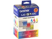 brother LC513PKS Tri-Color Ink Cartridge (Brother: LC513PKS)