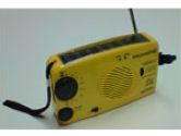 Magnasonic PCR110M Solar Rechargeable AM / FM Radio (MAGNASONIC: PCR110M)