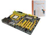 DFI LP UT 790FX-M2R AMD790FX ATX AM2+ DDR2 2PCI-E CrossFire SATA2 RAID Sound GBLAN 1394 Motherboard (DFI: LANPARTY UT 790FX-M2R)